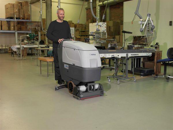 Nilfisk BA 551 Zemin Temizlik Makinası